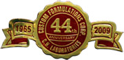 44th Anniversary logo